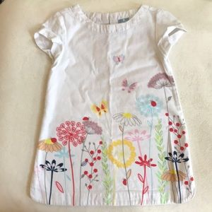 Baby gap beautiful summer print cotton dress